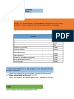 Tarea  # 3 -  Resolución de ejerciciosproblemas prácticos sobre planeación agregada