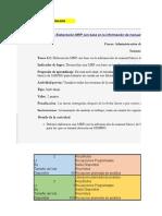 Tarea  4.1 Resolución de ejercicios  sobre planeación agregada