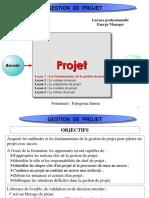 Cme Module Gestion de Projet Lecon 1