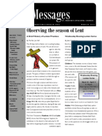 St Martin's March 2011 Newsletter