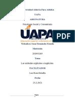 TAREA 5 DE PSICOLOGIA SOCIAL Y COMUNITARIA