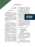 Caderno Direito Administrativo