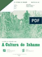 Sistemas de Producao Para a Cultura Do Inhame