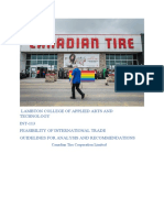 research analysis canadian tire
