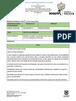 SECUENCIA DIDACTICA #1 LENGUA   CASTELLANA 6-7 (1)