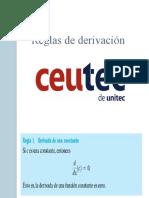 SEMANA 3 - Reglas de derivacion