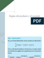 SEMANA 3 - Reglas del producto y el cociente