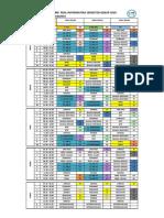 Jadwal Pelajaran Semester Genap tp 2018-2019 REV 1