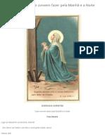 Exercicio Christão que convem fazer pela Manhã e a Noite – Controvérsia Católica