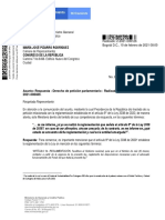 Carta sobre la Reglamentación de la Ley 2038 de 2020