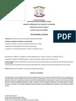 PLANIFICACION  ESPAÑOL 2019 - 2020