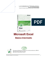 Microsoft Excel Basico e Intermedio