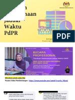 Slaid Pembentangan Panduan Pelaksanaan Jadual Waktu PdPR BPK-8Feb2021