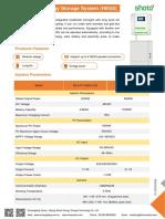 Residential PV Storage System LFP
