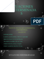 Ecuaciones indeterminadas (5)