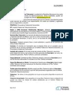 Glosario Terminos Paquete Blue Telecomm