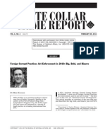 FCPA Enforcement in 2010 - Big, Bold, and Bizarre