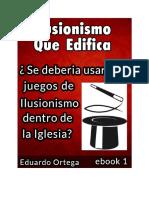 ebook # 1 PUEDE UN CRISTIANO USAR EL METODO DE ILUSIONISMO REGALO -