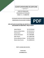 ATPS - Engenharia de Qualidade e Normalização revG
