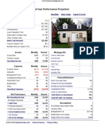 9926 Archdale - Performance Report