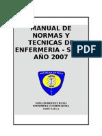 Manual De Normas y Tecnicas de Enfermeria