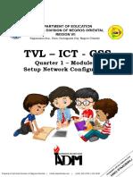 TVL- ICT - CSS 12 - Module 9  WEEK 1-2 for teacher