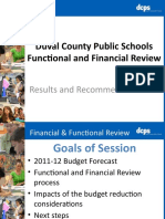 DCPS Functional and Financial Review