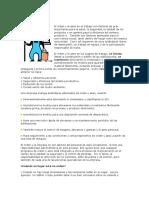 Conceptos Orden y Aseo en el Trabajo
