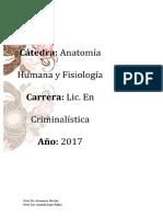 ANATOMIA HUMANA I- introduccion