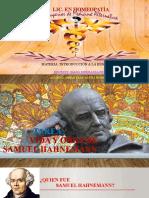 VIDA Y OBRA Samuel Hahnemann
