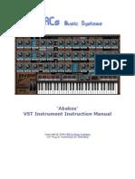 AbakosVST-Manual