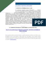 Corte Di Cassazione n 6191 2011