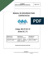 MC-ST-DC-10 Manual Seguridad Contratistas Rev4
