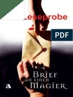 Wolff, Katja - Die Leseprobe - Brief an einen Magier (D 13)