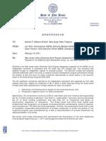 Christie Report on Urban Enterprise Zone Program