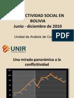 Exposición Informe Conflictividad en Bolivia