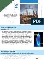 ELECTRICIDAD ESTATICA Medidas de Prevención en el trasvase de liquidos inflamables
