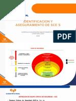 CAPÍTULO 3 IDENTIFICACION Y ASEGURAMIENTO DE SCE´s