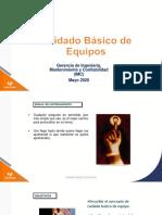 CAPÍTULO 5 CUIDADO BÁSICO DE EQUIPOS - PROGRAMA IMC