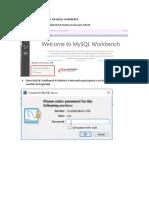 Crear Una Base de Datos en Mysql Workbench