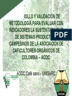 presentacion MESMIS en Colombia