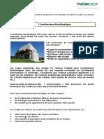 Architecture Bioclimatique