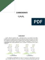 Carboidrati parte 1