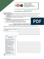 Q1 Module 1 Activity Sheet 21st C Lit