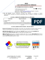 DESPLAZADOR DE HUMEDAD MSDS_231 SHESTER