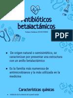Antibiòticos betalactàmicos