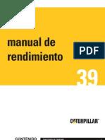 Manual de rendimiento Caterpillar _ Edicion 39 en español