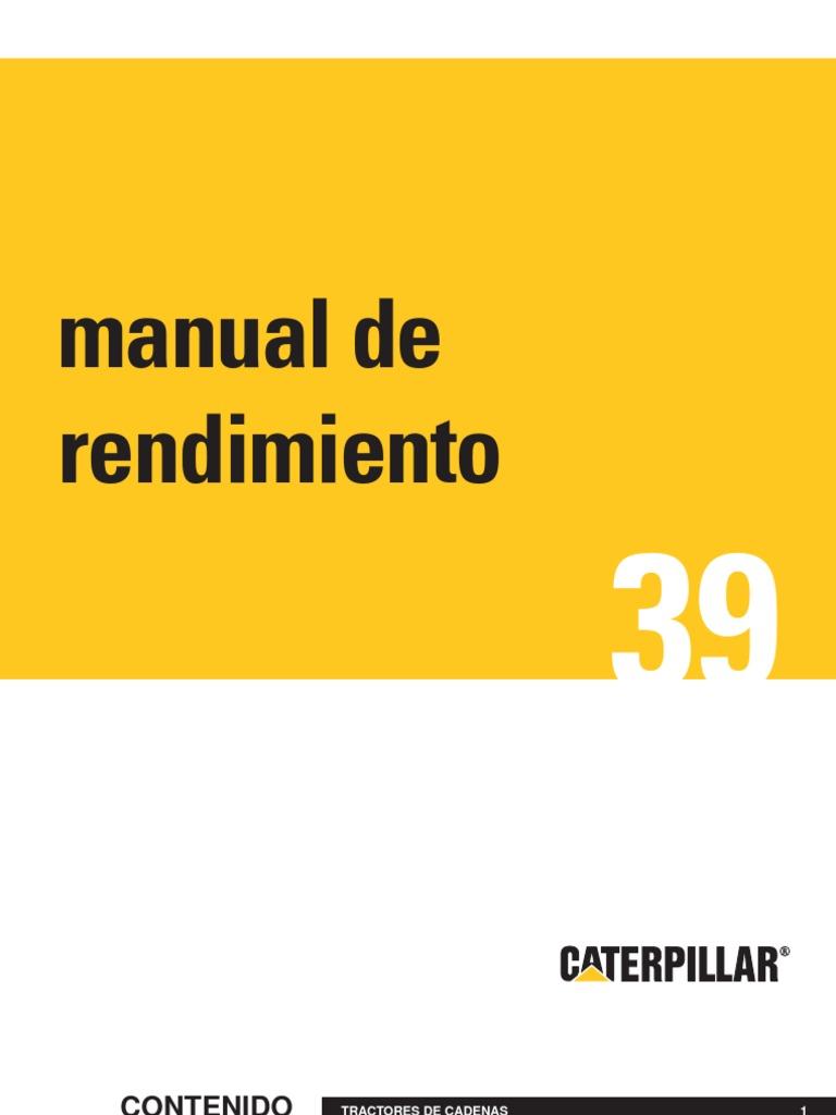 Manual de rendimiento caterpillar edicion 39 en espa ol for Manual de viveros forestales pdf