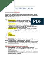 Système bancaire français