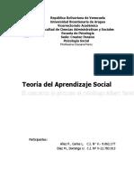 Teoria Psicología Social - Carlos Añez - Ulises Díaz  final